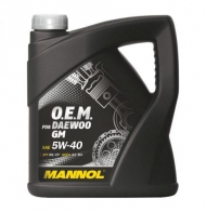 O.E.M. for DAEWOO GM 5W-40